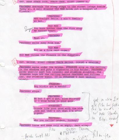 Hayter Street shooting Script, Written by Andrew Cassidy